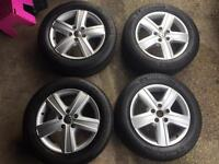 """VW T5 Transporter Thunder Wheels 17"""" with Michelin tyres"""