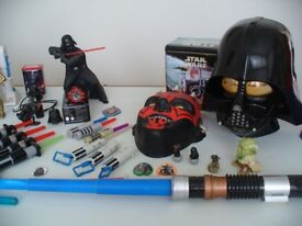 Set of rare & vintage STAR WARS collectibles, memorabilia, toys and merchandise