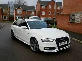 2011 AUDI AVANT A4 2.0 TDI S LINE BLACK EDITION SPEC AUTOMATIC FACELIFT 5 DOOR WHITE FULLY LOADED