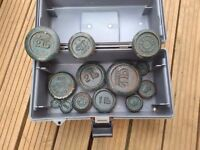 Selection of Avery and Other type old weights