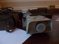 vintage Noris slide projector with case an lead