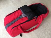 Phil and Teds cocoon in red -Excellent Condition.