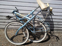 """APOLLO FOLDING BIKE 3 speed 20""""inch wheels and tyres all good £85 ovno"""