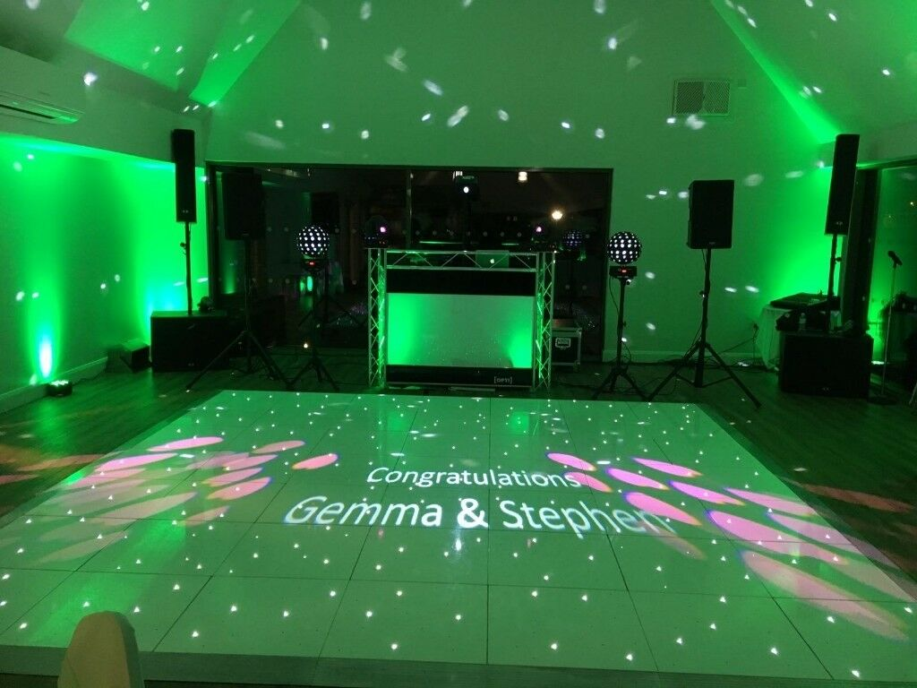 led product floor dance productview
