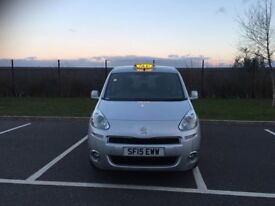 TAXI 2015 PEUGEOT TEPEE 1.6 WHEEL CHAIR ACCESS 35000 MILEAGE
