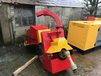 Wood Chipper Shredder PTO driven with **Feed Roller system**