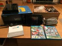 Wii U 32GB plus Mario Kart & Super Mario Bros. U — Boxed