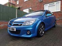 Blue Vauxhall astra vxr