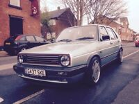 VW golf gti mk2 1.8 8v not mk1 mk3 mk4 vr6 1.8t turbo r32 20vt