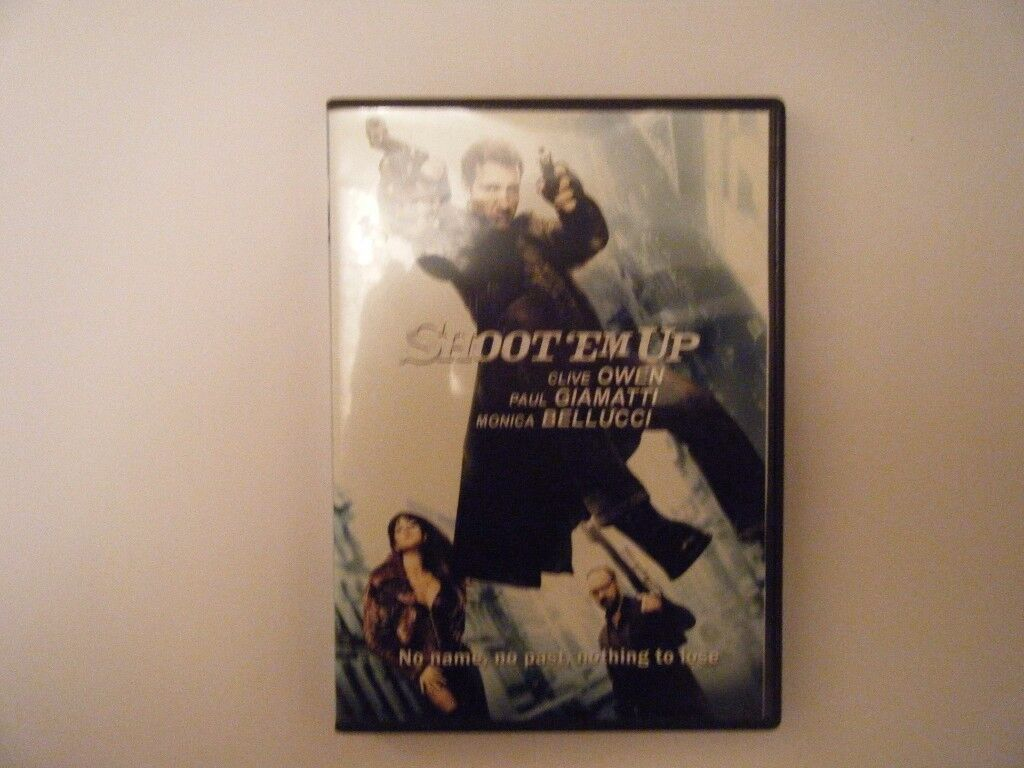 Shoot `em Up. DVD. Used in very good condition.