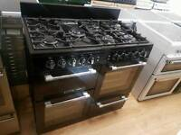 Leisure cookmaster Double oven Gas Range Cooker. 100cm width
