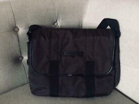 genuine lacoste quality bag,costs £135,bargain at £55,immaculate,used once,expandable