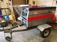 Honda EXW 280D Diesel silent welder/ generator.