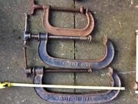 Large Vintage G clamp
