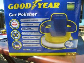 Car Polisher Good Year Electric 240v as new