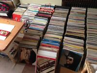 Lots of records for sale