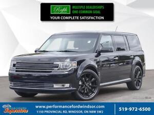 2018 Ford Flex ***AWD, NAV,  sunroof, 20 black wheels***