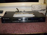 Cambridge Audio Progressive Scan CD/DVD Player With Remote.Model DVD55