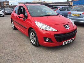 Peugeot 207 1.4 petrol,FSH,1 owner 2010 model