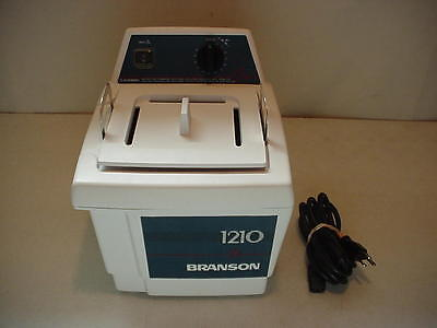 Bransonic 1210 Branson Heating Water Bath Ultrasonic Cleaner 1210r-mth