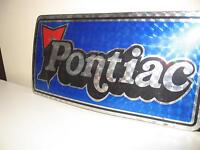 PONTIAC LICENSE PLATE COVER