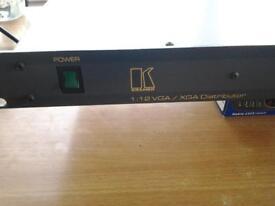 kramer vp-12xl vga xga distributor