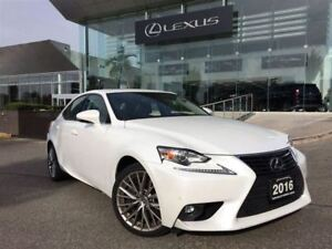 2016 Lexus IS 300 Luxury Pkg AWD Navi Backup Cam Bluetooth Sunro