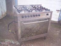 Gas Range Cooker for sale.