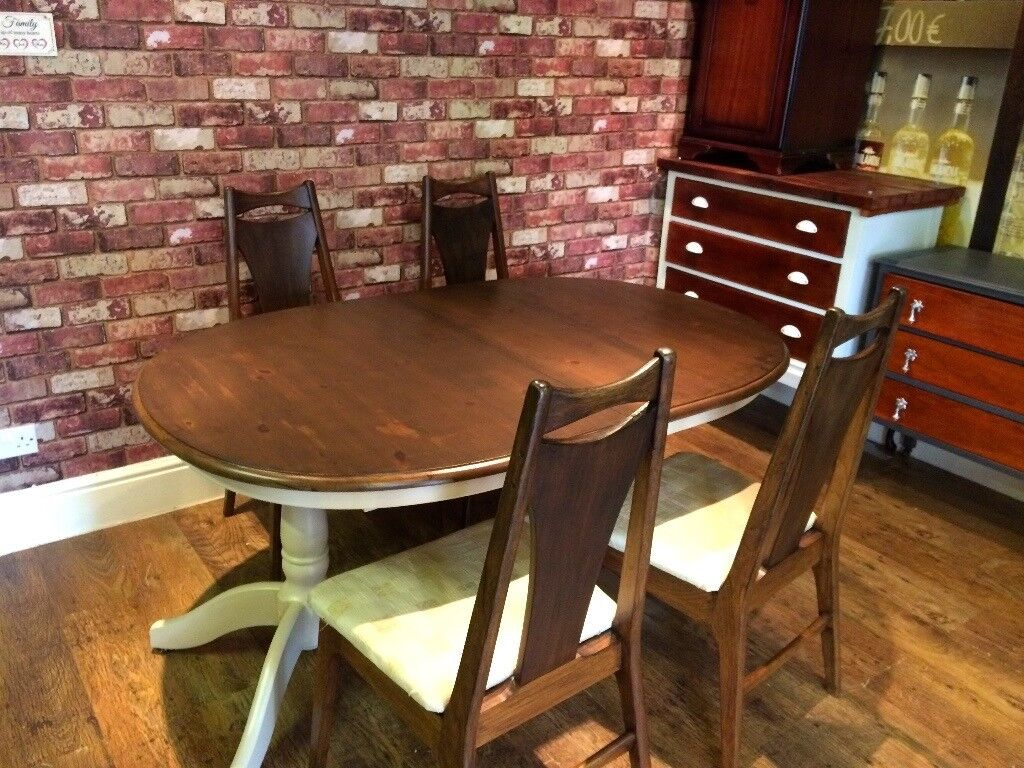 TABLE AND 4 CHAIRS - CAN DELIVER LOCALLY .....