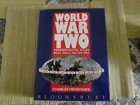World War 2 Chronological atlas.