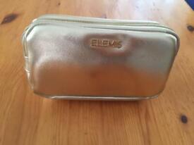 Elemis Gold Lined with Inner Pocket Make Up Bag