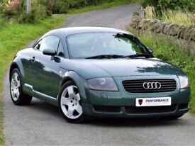 WOW!!!(2002) AUDI TT QUATTRO 225BHP - TOP SPEC - FULL SERVICE HISTORY - FULL LEATHER - ALLOYS