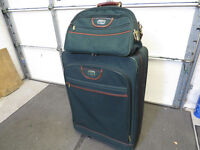 Antler large suitcase with carry on bag