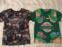 Bundle of boys t-shirts x8
