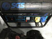 petrol 5.5 hp 2200 W generator