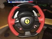 Thrustmaster Ferrari 458 Italia Xbox one steering w