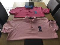 Size large Hackett tshirts