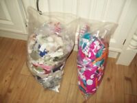 Free fabric pieces for small craft projects, dolls houses, card making etc