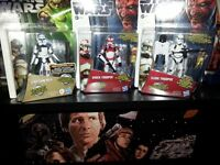 star wars figures boxed and sealed in mint condition