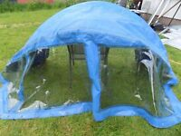 Yacht/ boat spray hood in good condition