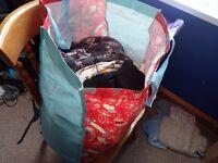 Big bag of lady's clothes 12-14