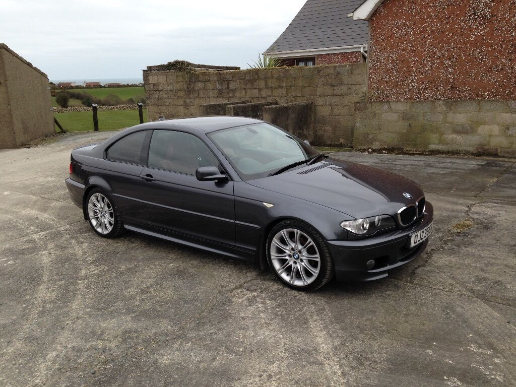 bmw e46 320d m sport coupe 2006 in newry county down. Black Bedroom Furniture Sets. Home Design Ideas