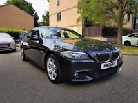BMW 5 Series 2.0 520d M Sport 4dr Full Service History 1 owner From New, Sat navigation