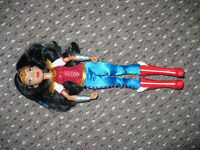 DC Super Hero Girls Wonder Woman 12 inch Action Doll by Mattel. Never played with. Christmas..