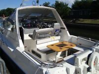 twin engine sports cruiser sealine ambassador