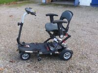 TGA MINIMO PLUS MOBILITY SCOOTER (used for only 500 yards) plus COVER