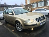 VW VOLKSWAGEN PASSAT 1.9 TDI SPORT 130BHP AUTOMATIC ESTATE 2002 1 OWNER 13 VW STAMPS MINT CAR 2 KEYS