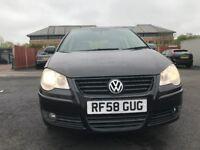 2009 VW POLO 1.2 5 DOOR MOT 09/05/2019 £1899 NO VAT
