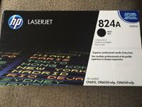 New HP Laserjet Imaging Drum unit 824A, Black, CB384A