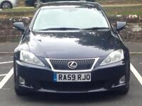 2009 (Sep 59) LEXUS iS 250 2.5 SE-L - Saloon 4 Doors - CVT / AUTO - Petrol - BLUE *TOP SPEC/LONG MOT